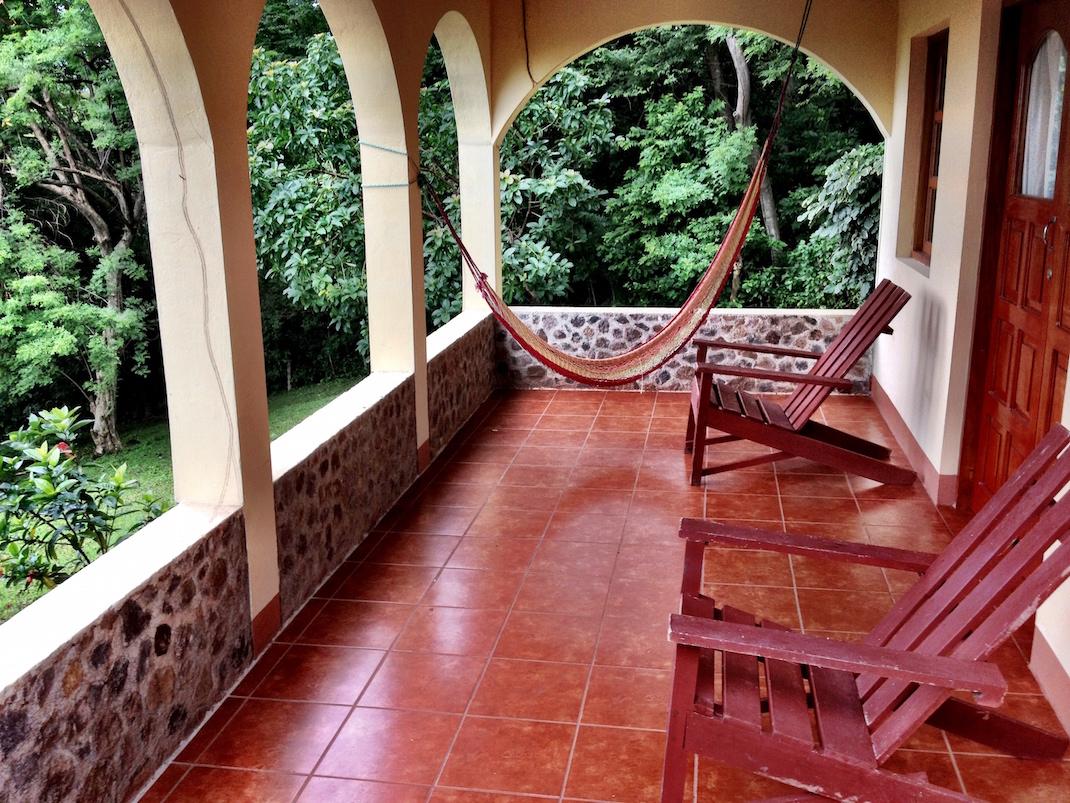 Ometepe La Omaja Cabana Porch