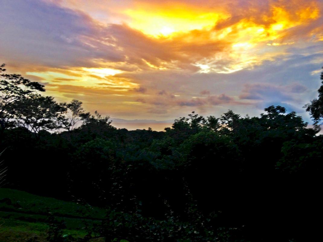 Ometepe Sunset From La Omaja