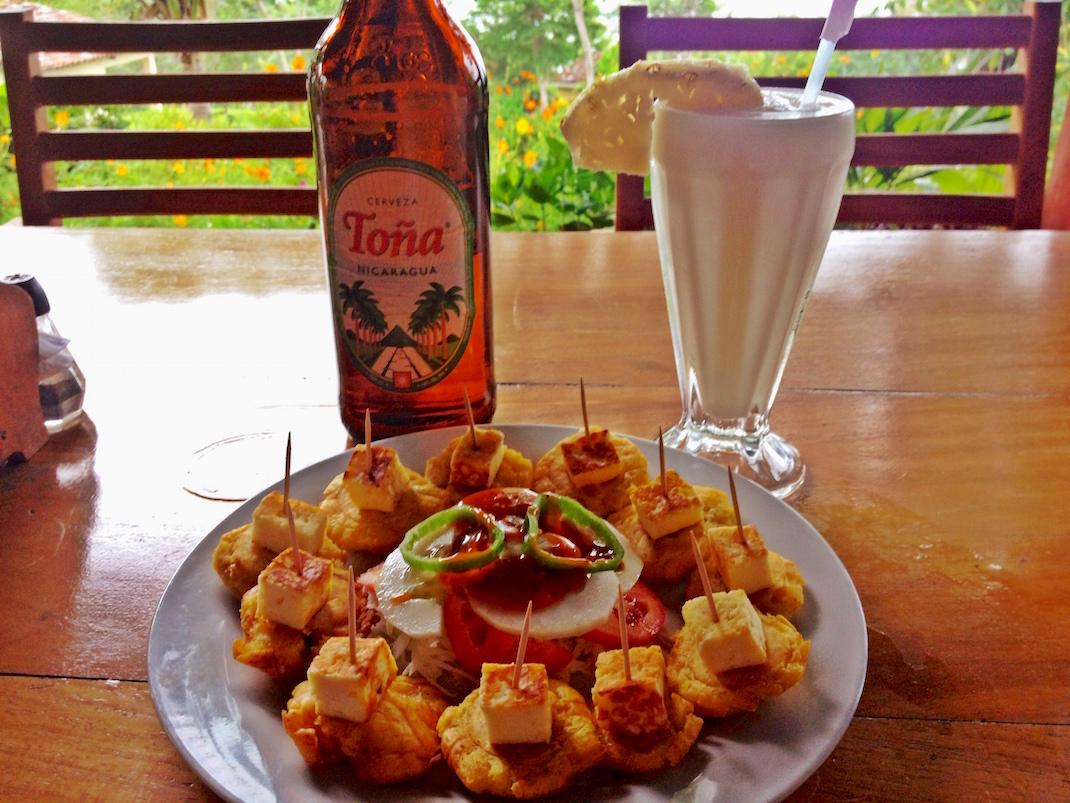 Ometepe La Omaja Tostones Plate