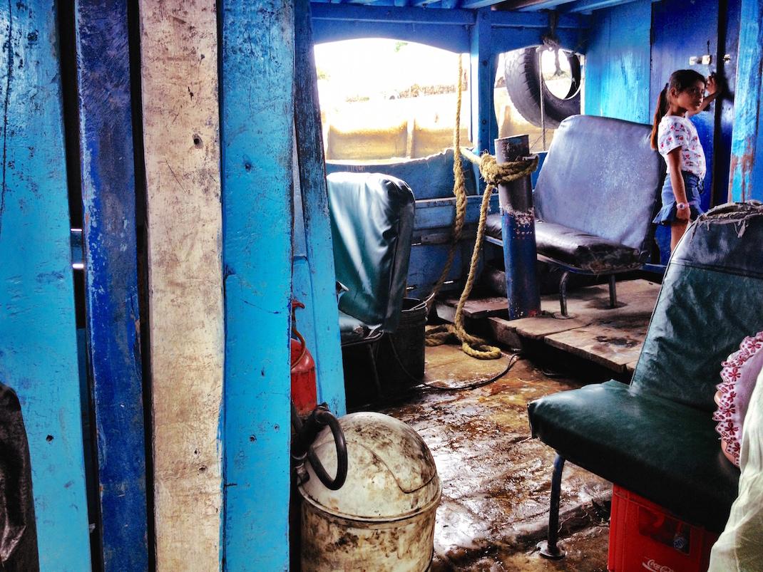 Ometepe Interior Lancha Boat