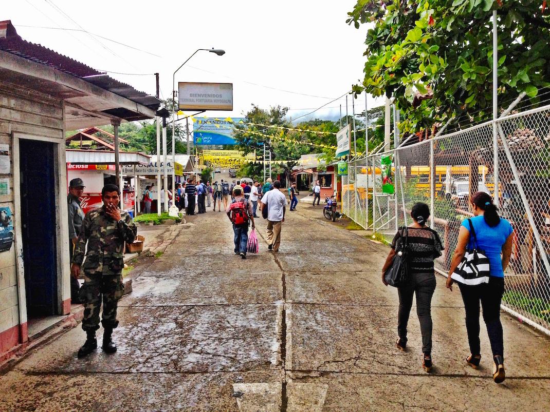 Ometepe Moyogalpa Port Exit