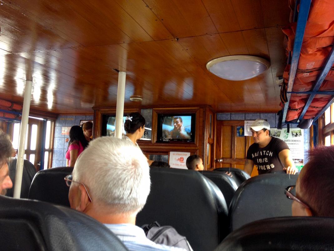 Inside Ometepe Return Ferry