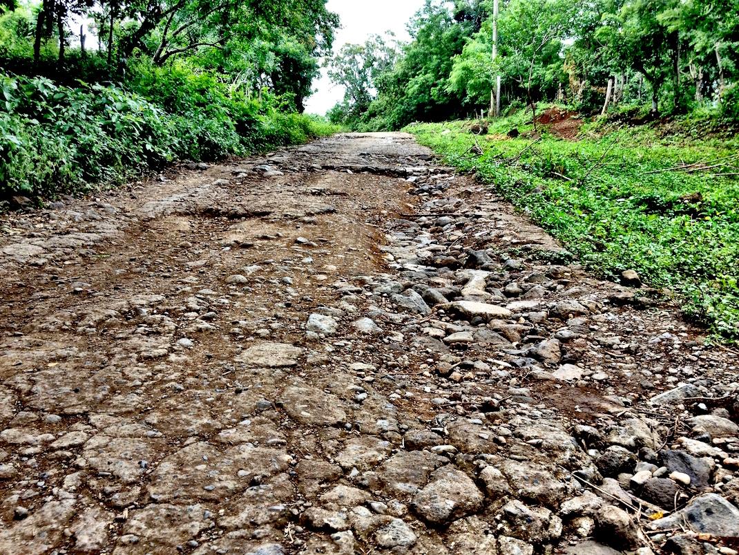 Ometepe Rough Mountain Road