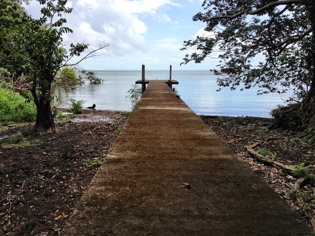 Ometepe Concrete Boat Dock