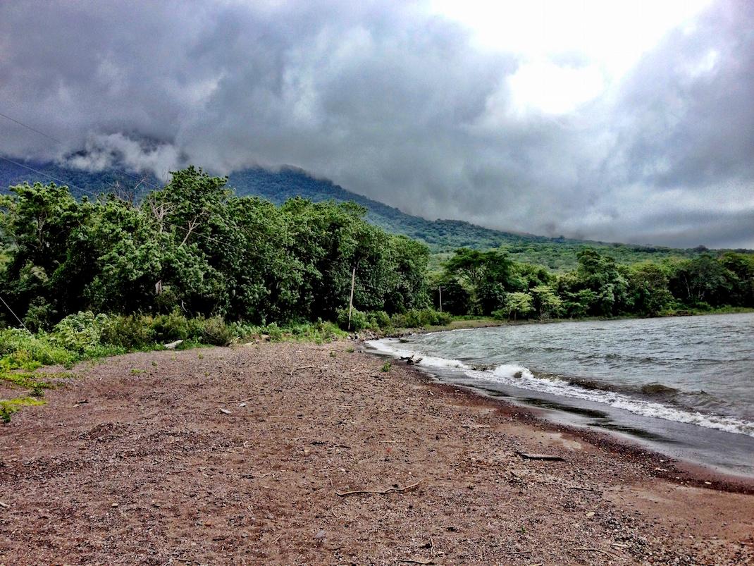 Ometepe Lake Nicaragua Shoreline