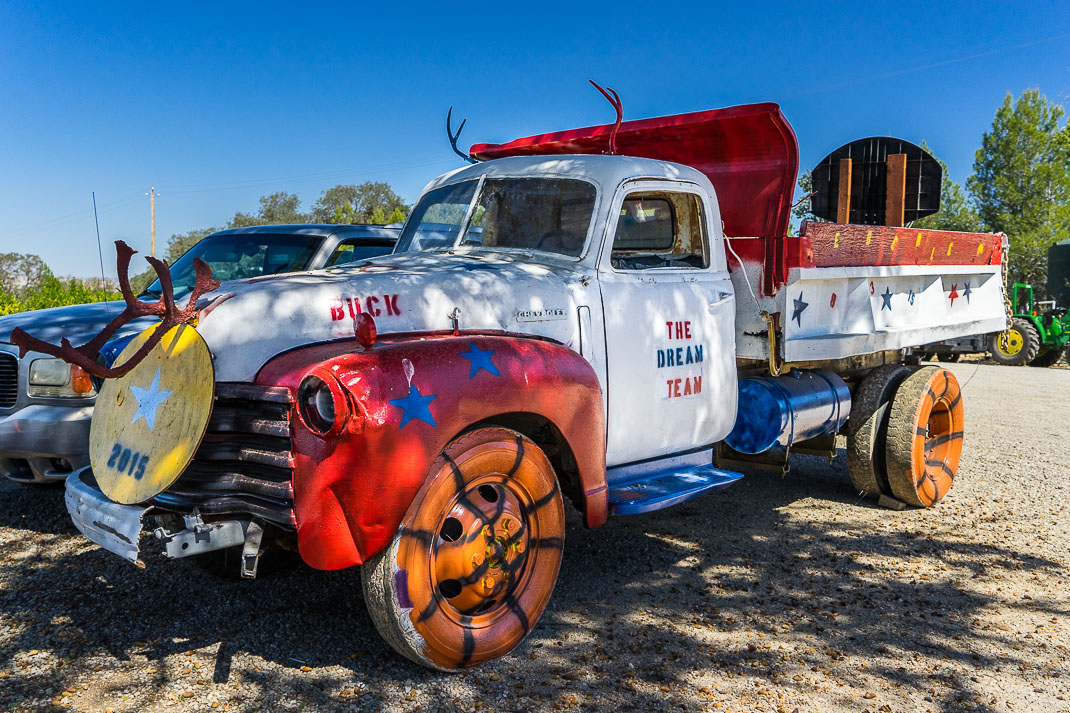 Paso Robles Patriotic Truck