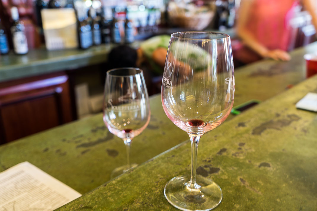 Paso Robles Wine Glasses