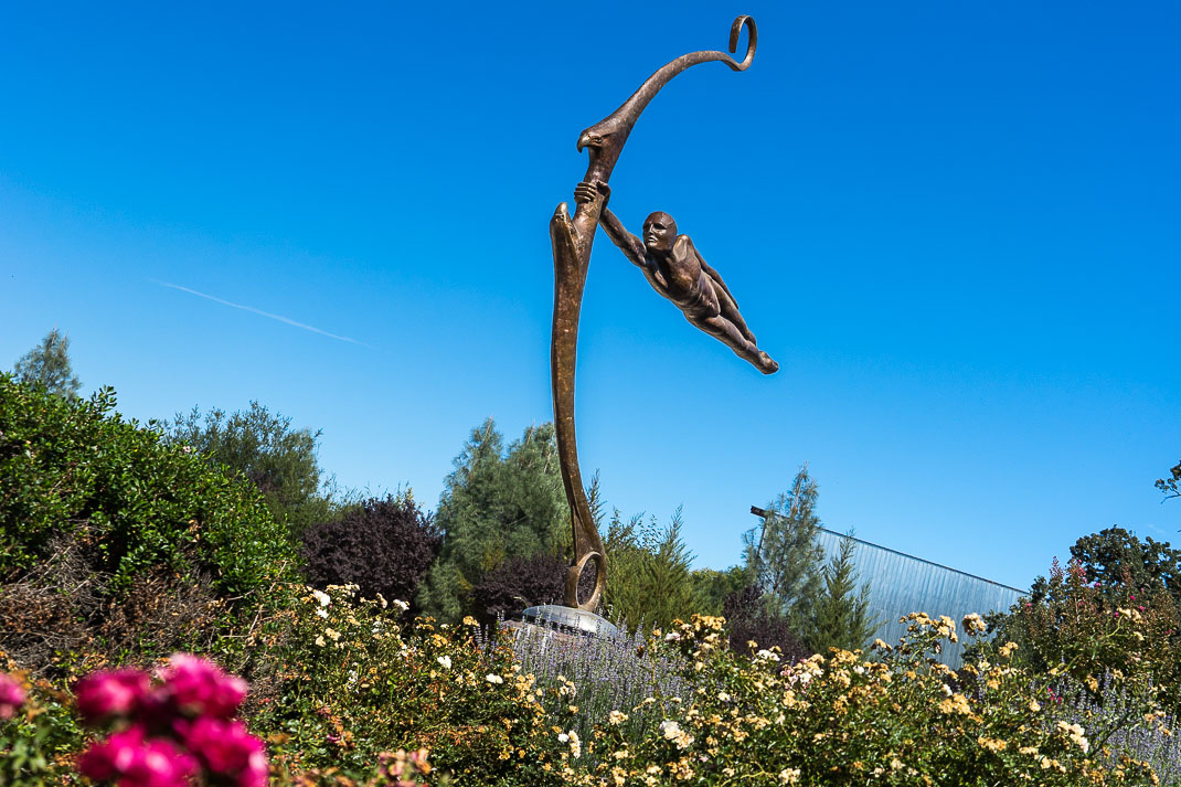 Paso Robles Bow Sculpture