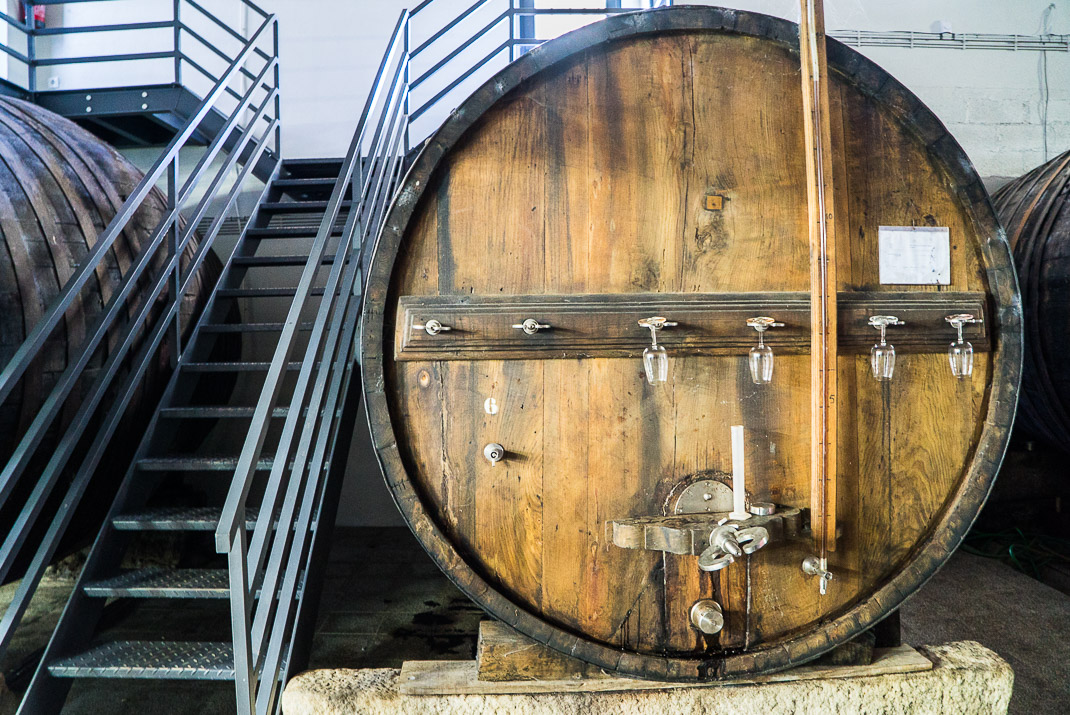 Douro Valley Wine Barrel