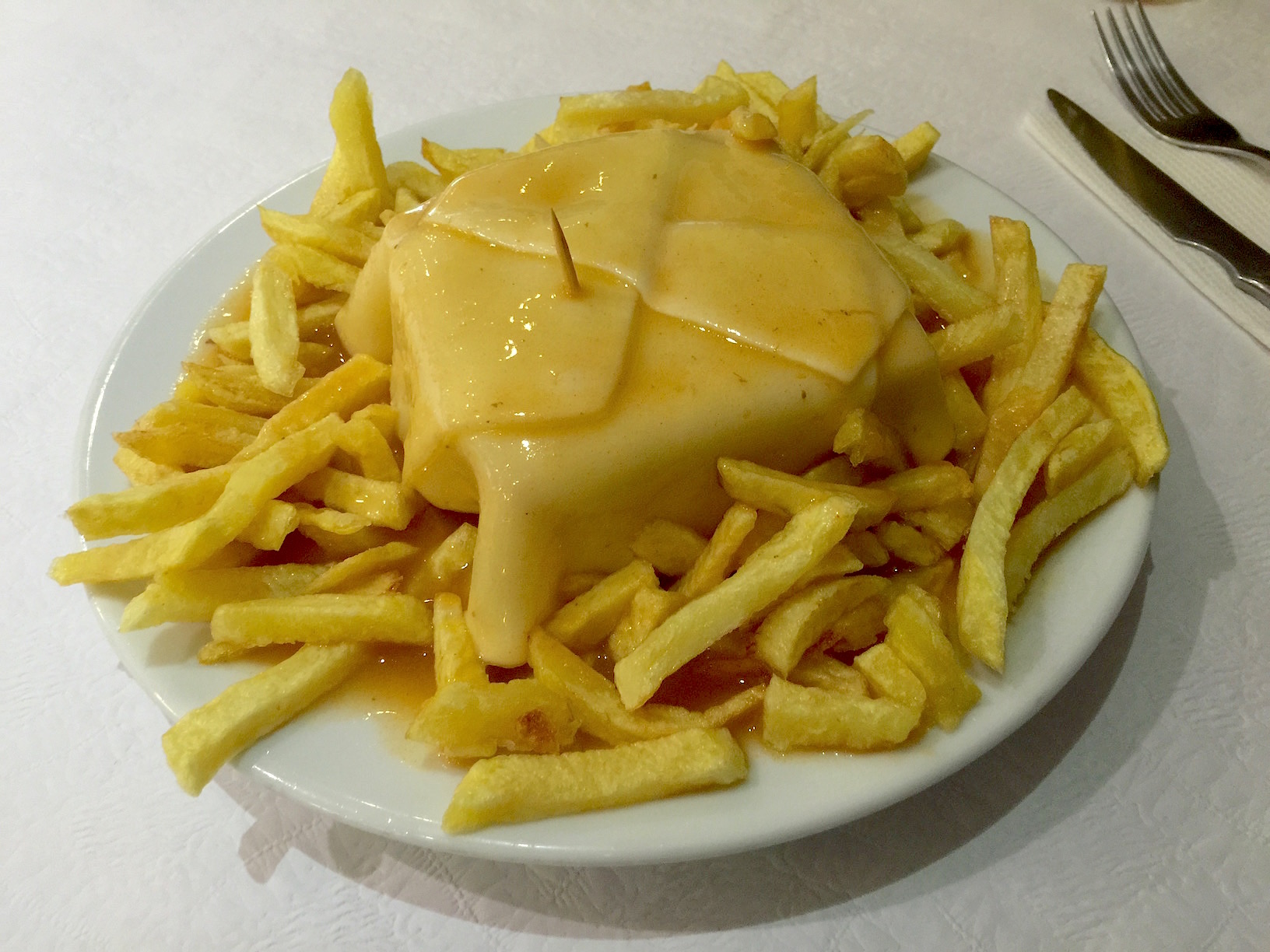 Porto Whole Francesinha Sandwich