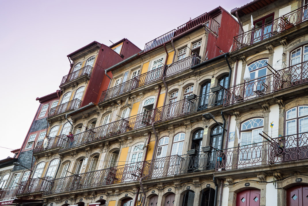Windows Along Porto Riverfront