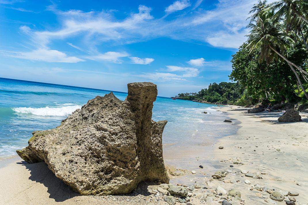 Sabang Beach Rock Waves