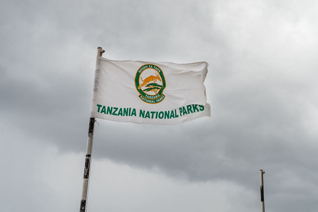 Serengeti National Park Flag