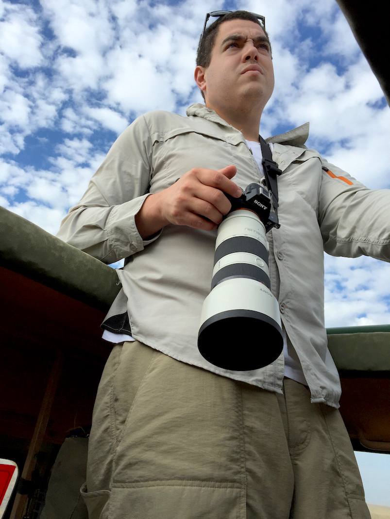 Serengeti Safari Picture Taking