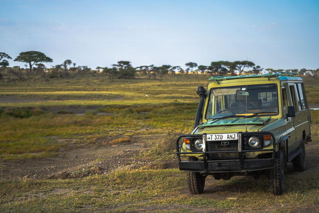 East Serengeti Safari Vehicle