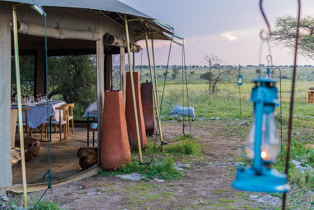 East Serengeti Dinner Tent