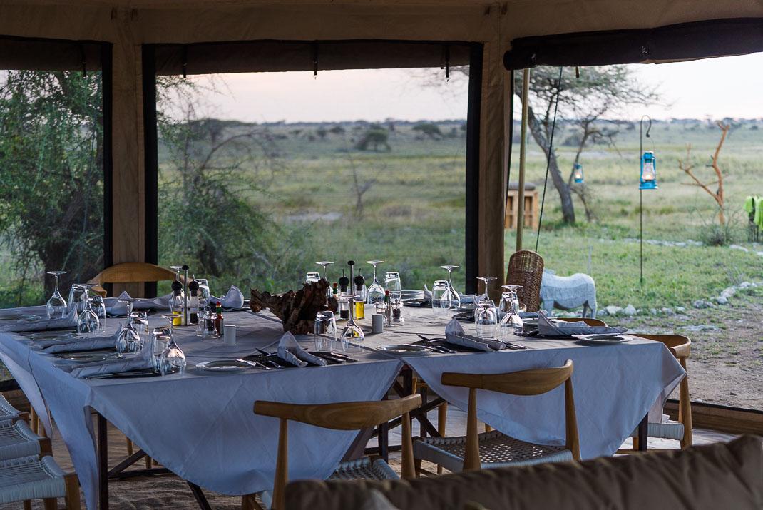 East Serengeti Dinner Table
