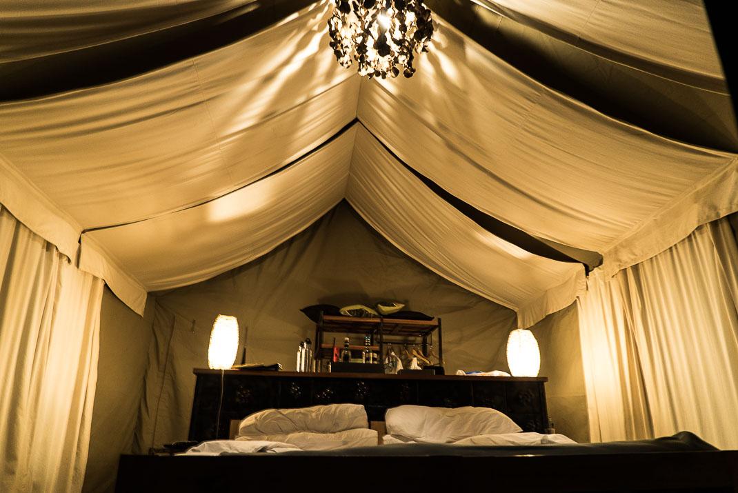 East Serengeti Namiri Tent Interior