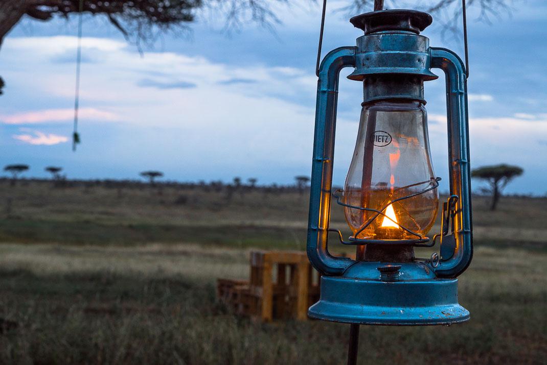 East Serengeti Oil Lantern