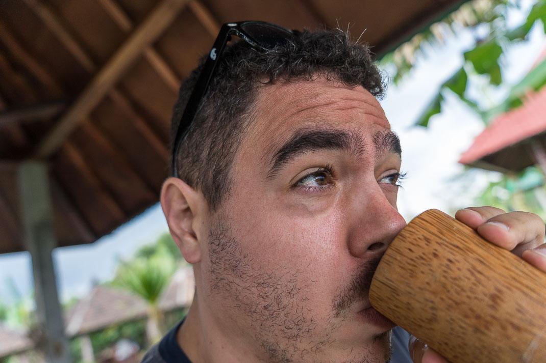 Kopi Luwak Coffee Tasting