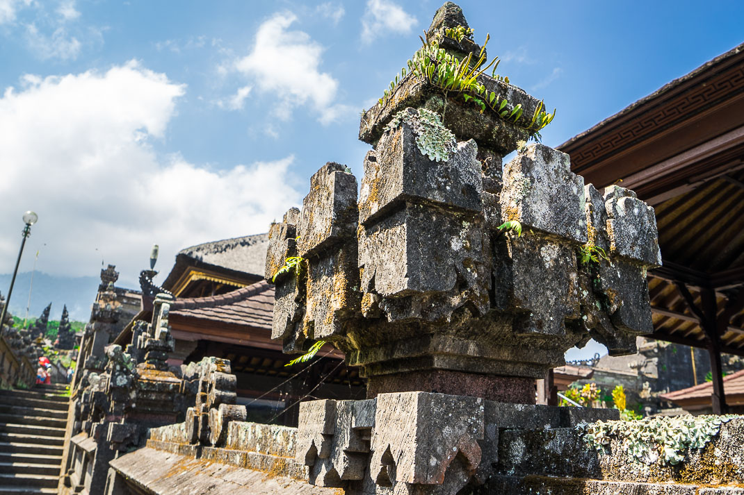 Balinese Temples Lava Column