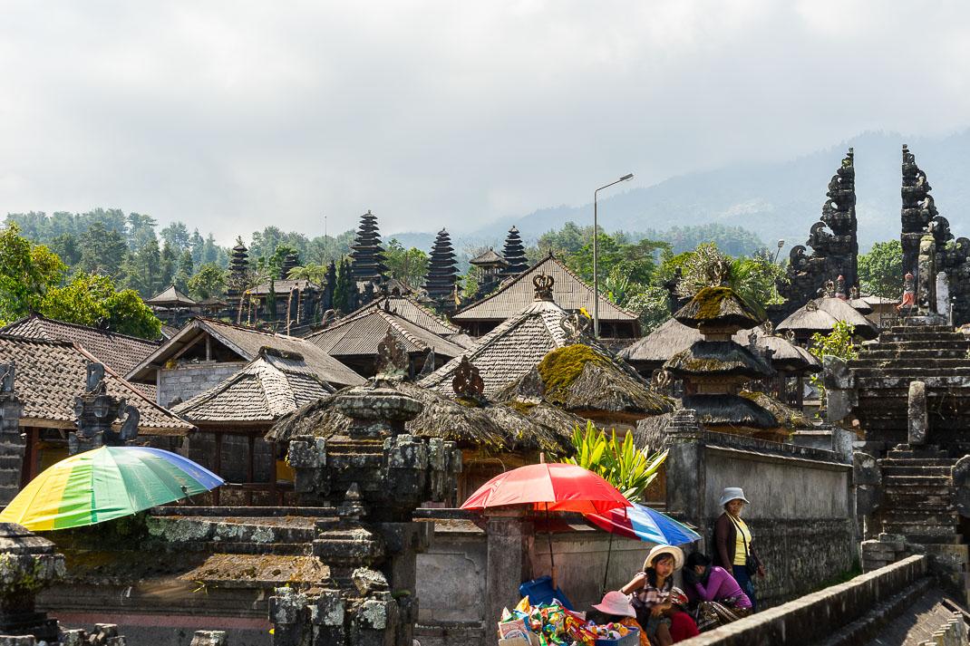 Balinese Temples Besakih Buildings
