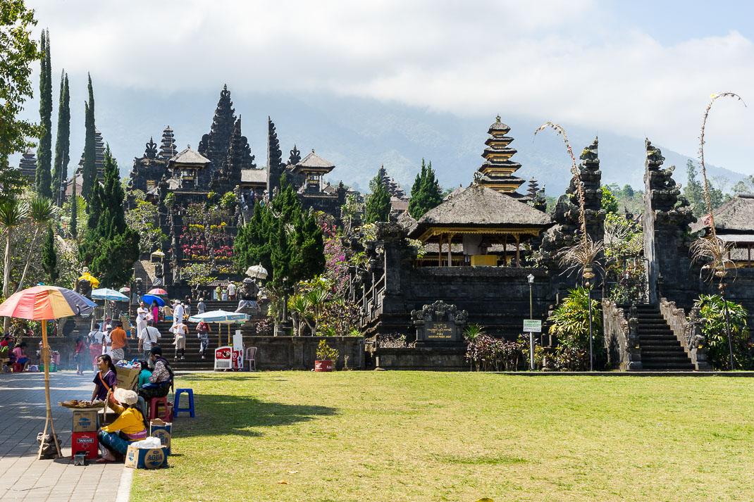 Balinese Temples Besakih Entrance