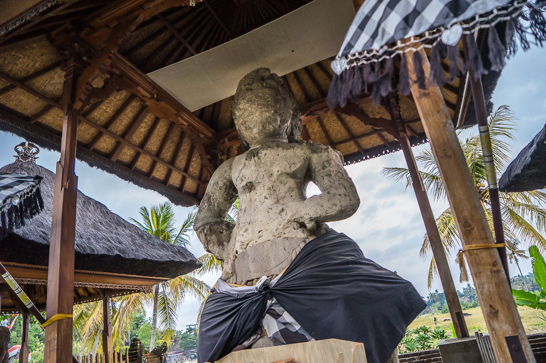 Balinese Temples Pejeng Giant