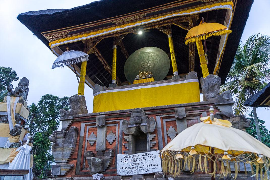 Balinese Temples Moon Drum