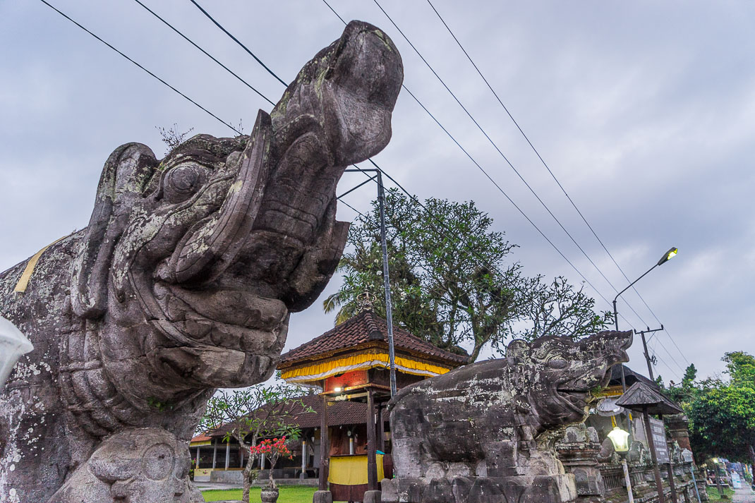 Balinese Temples Elephant Entrance