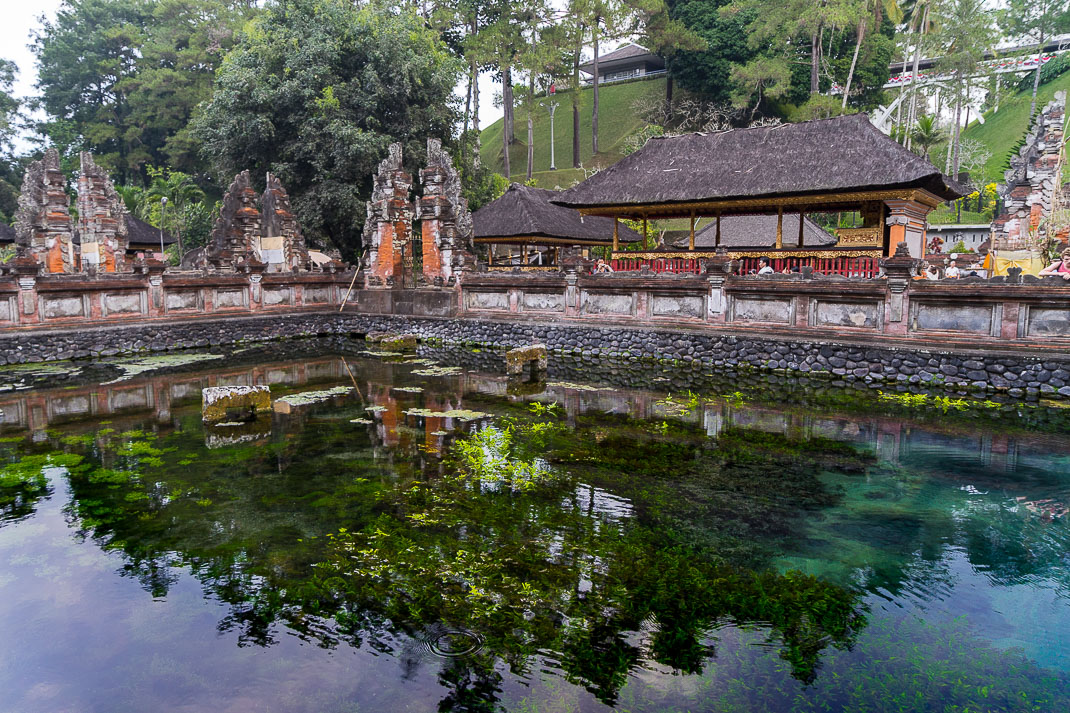 Balinese Temples Spring Pool