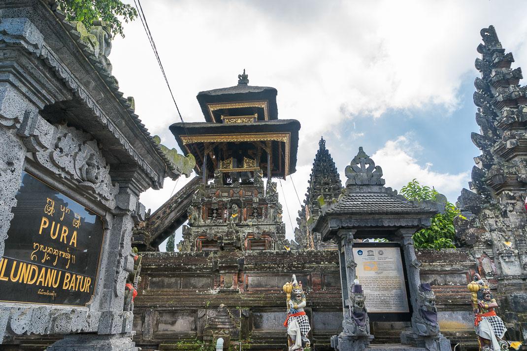 Balinese Temples Ulun Danu Batur Entrance