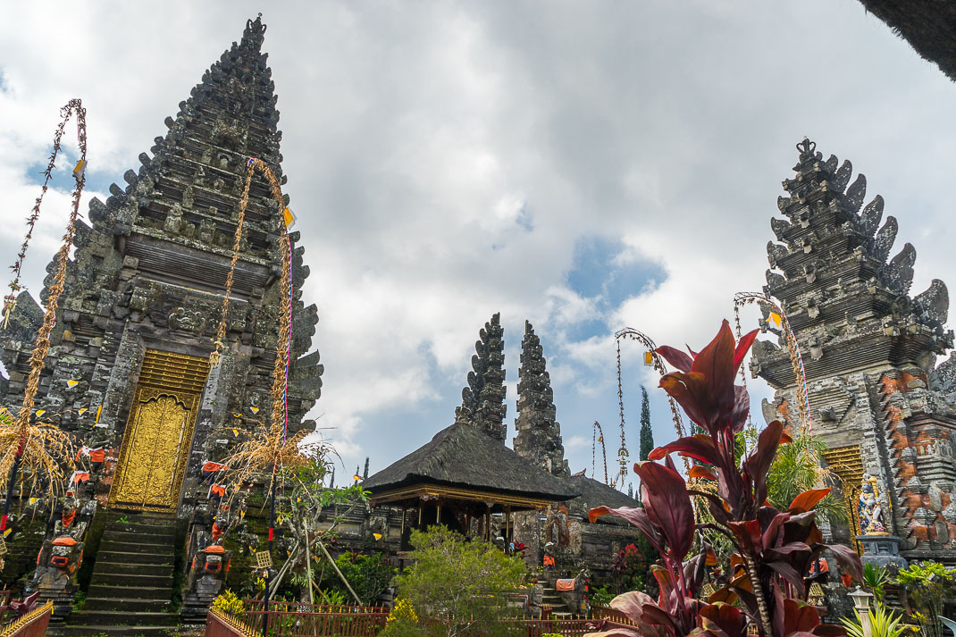 Balinese Temples Stone Spires