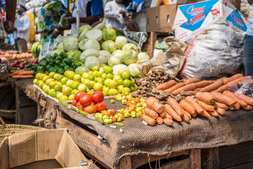 Stone Town Market Produce