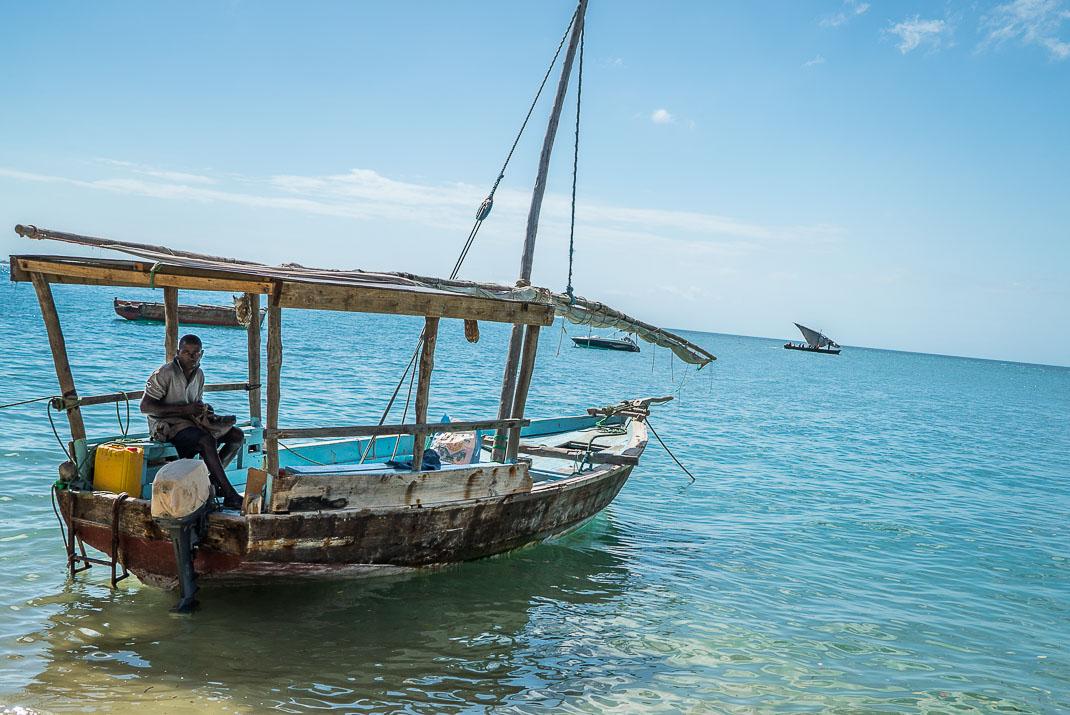 Stone Town Sail Boat