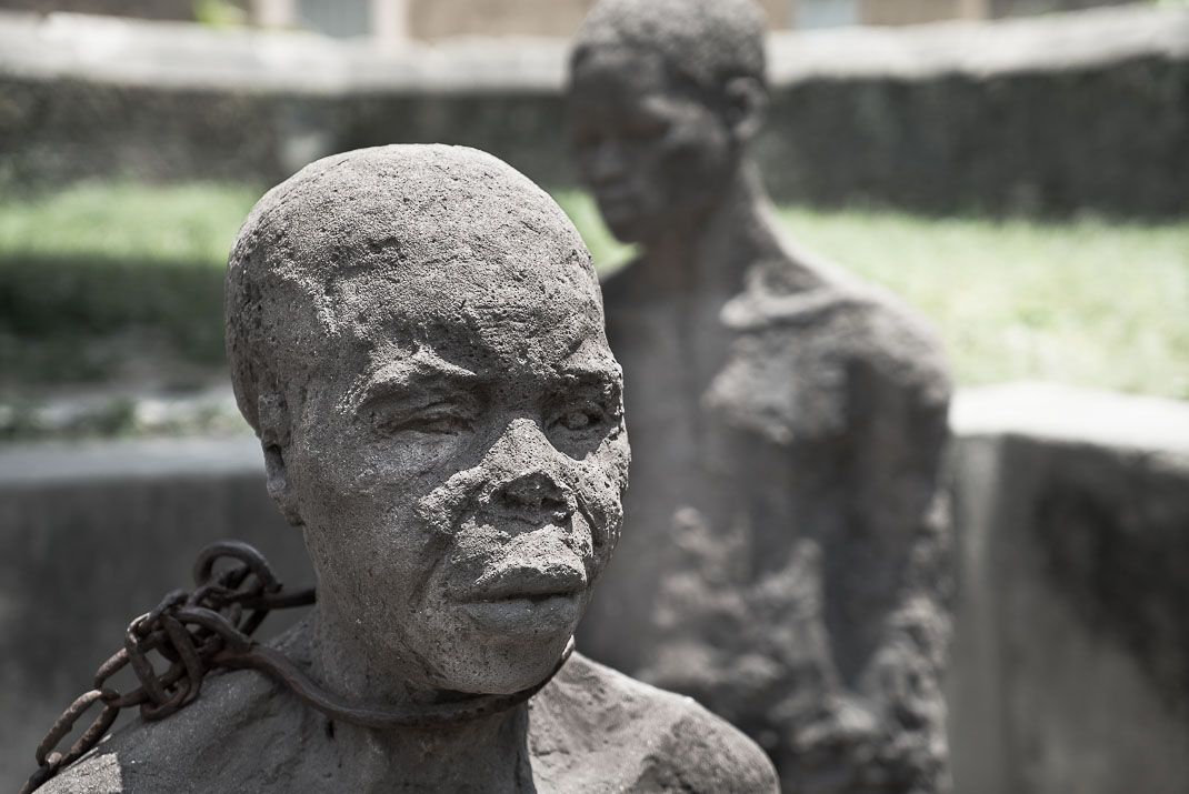Stone Town Slave Statue