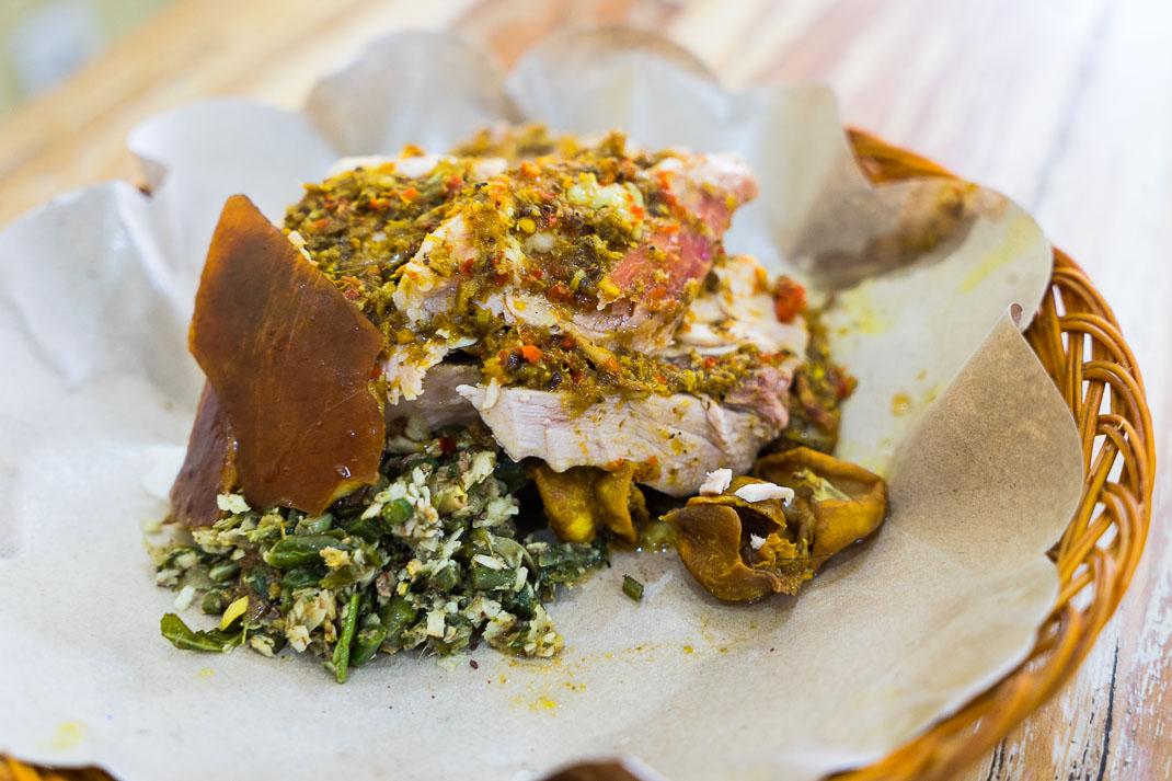 Ubud Roast Pork Plate