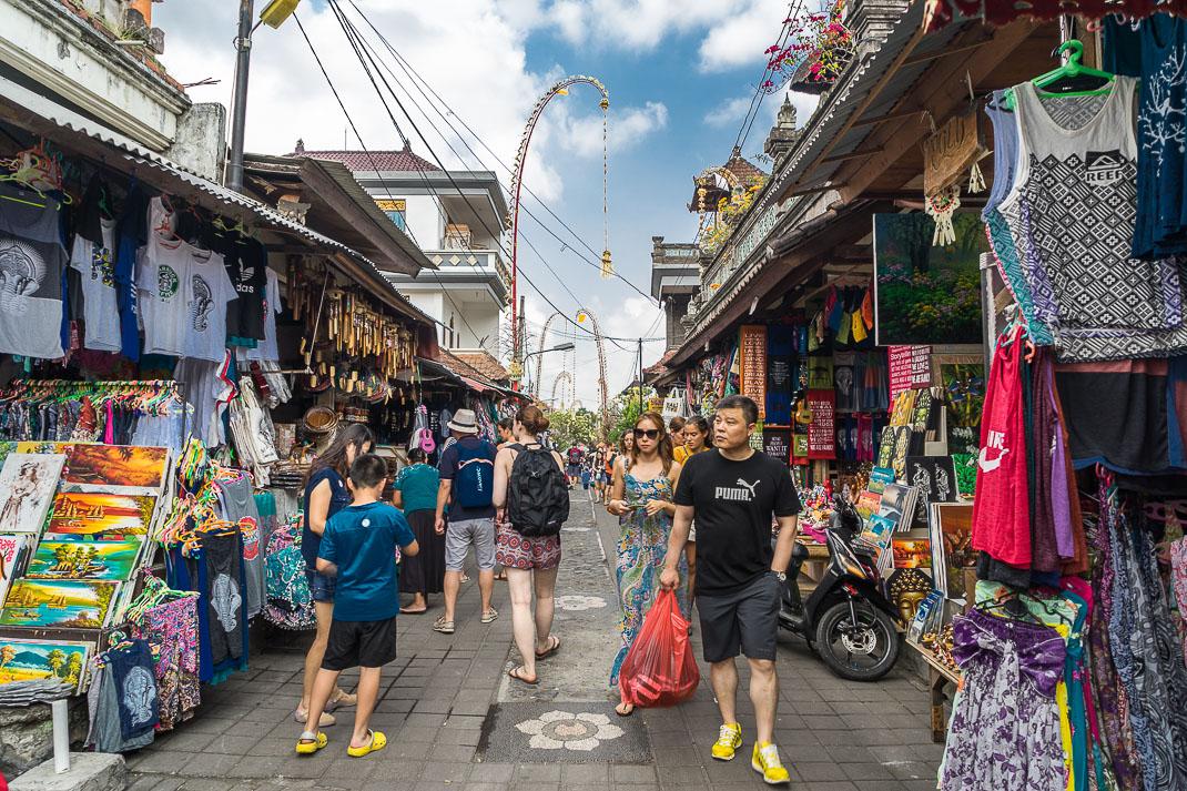 Ubud Street Market Distance