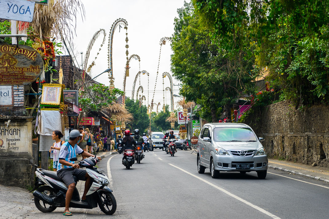 Busy Streets of Ubud