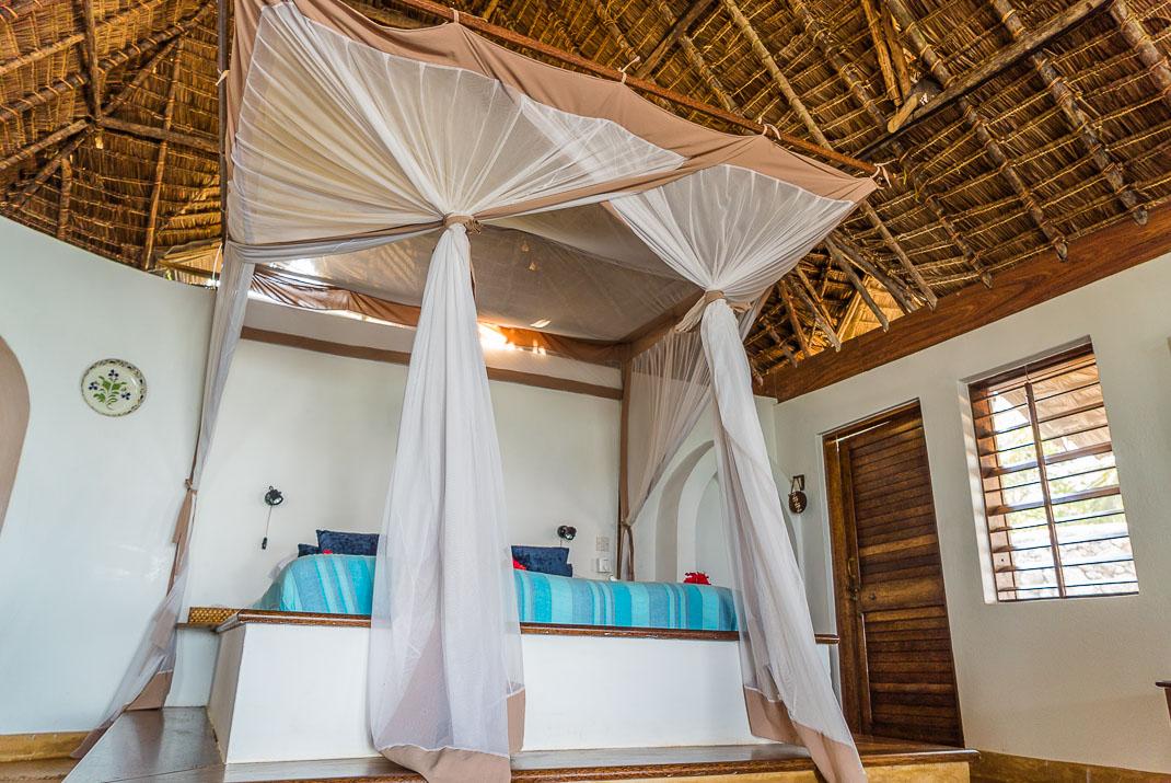 Zanzibar Matemwe bungalow interior
