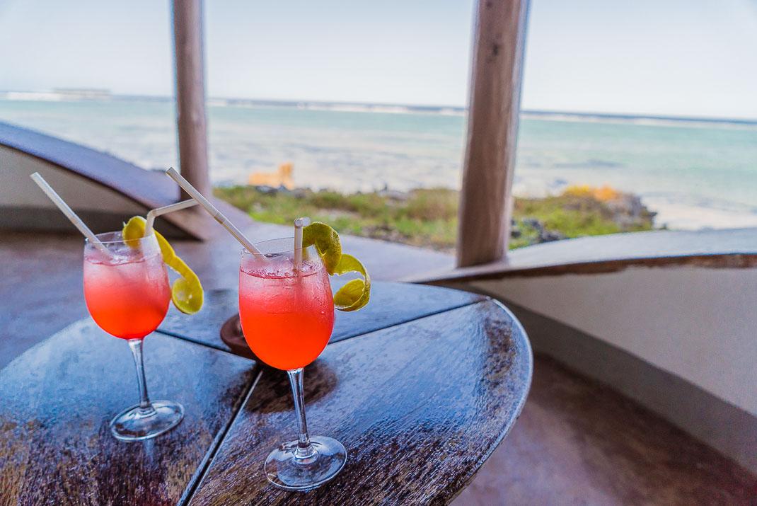 Zanzibar Matemwe Tropical Drinks