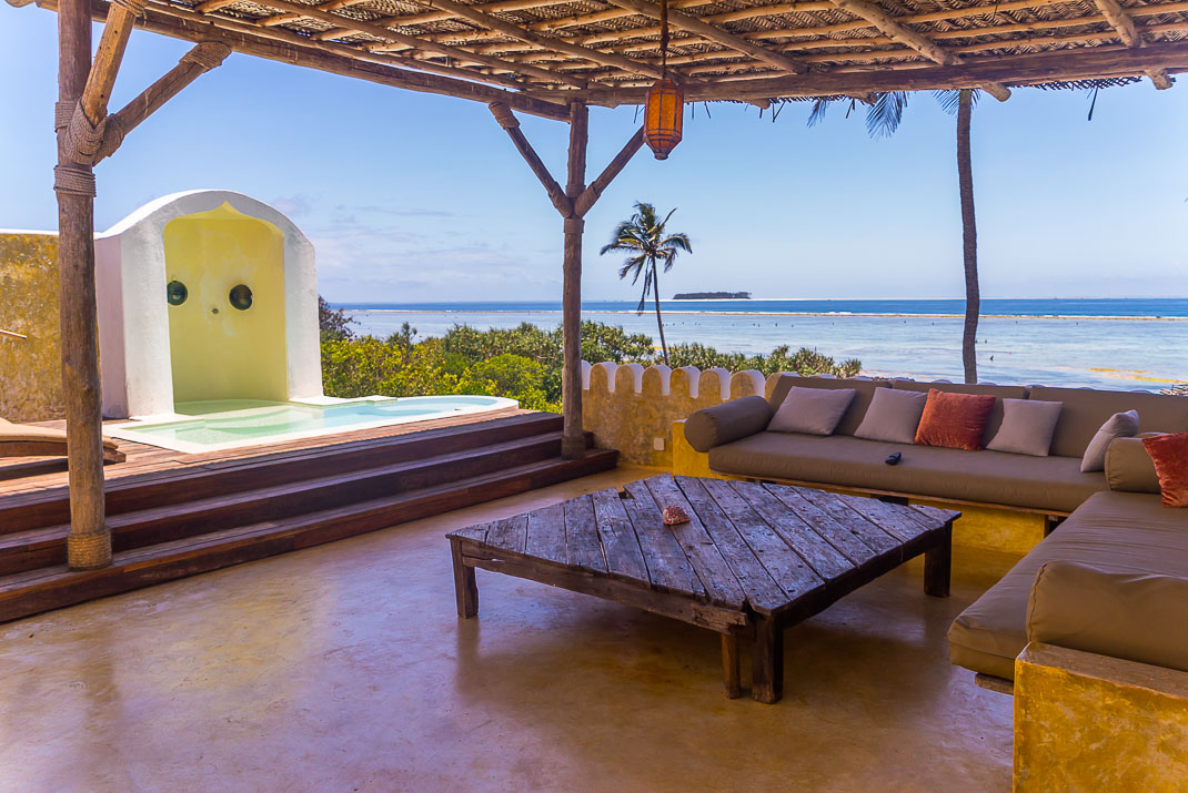 Zanzibar Matemwe rooftop deck