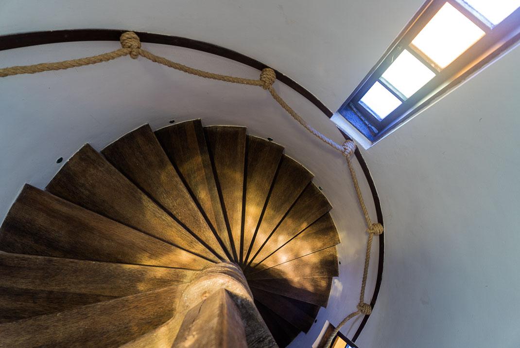 Zanzibar Matemwe spiral staircase