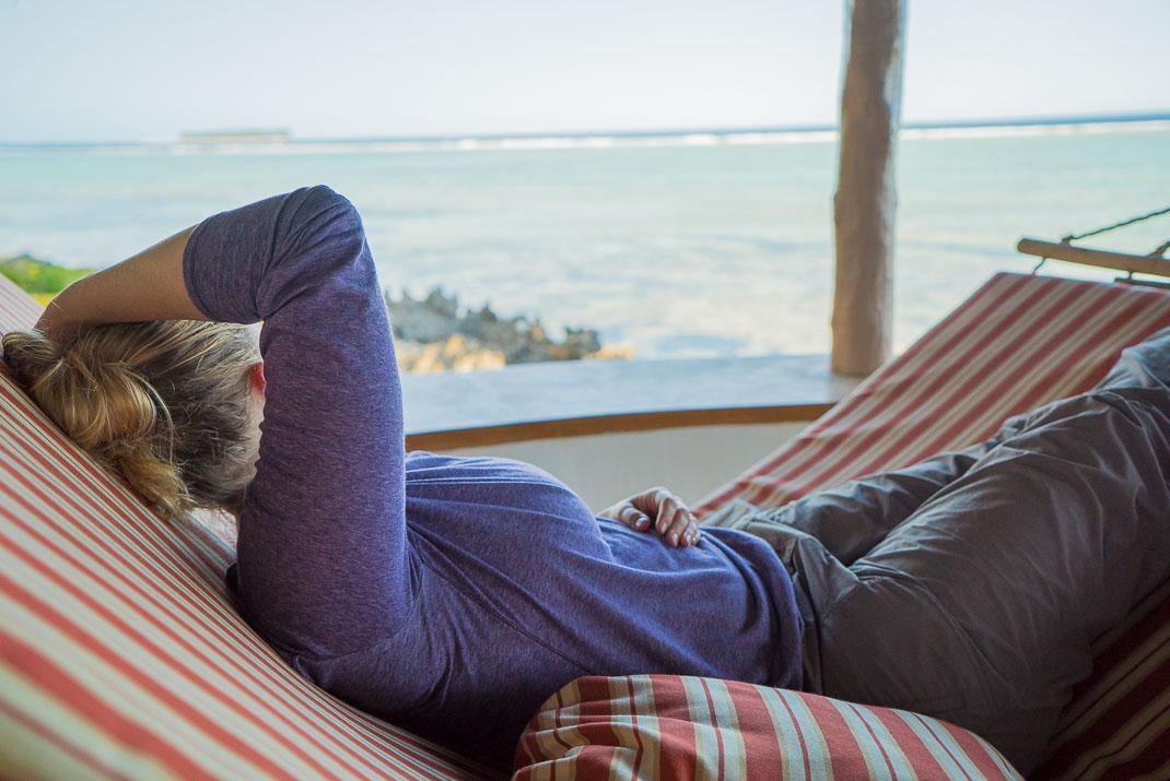 Zanzibar Matemwe sleeping hammock