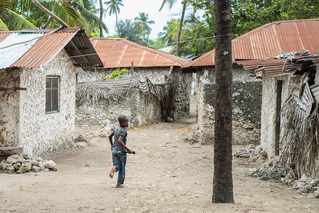 Zanzibar Matemwe Village Buildings