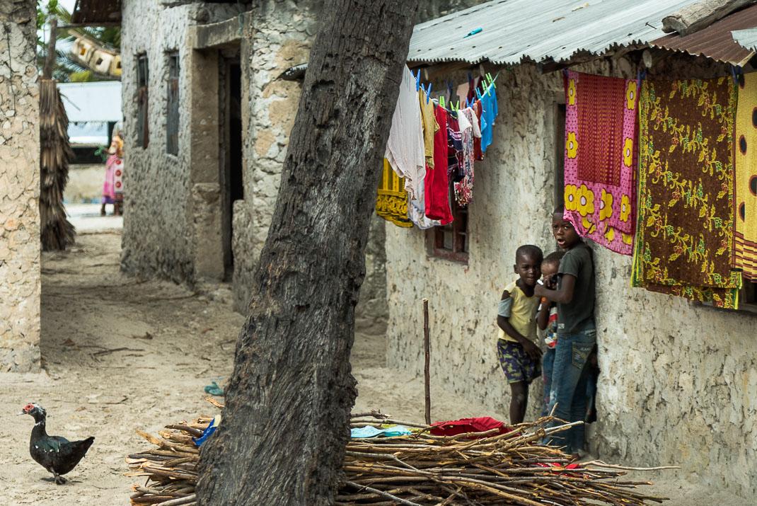 Zanzibar Matemwe village children