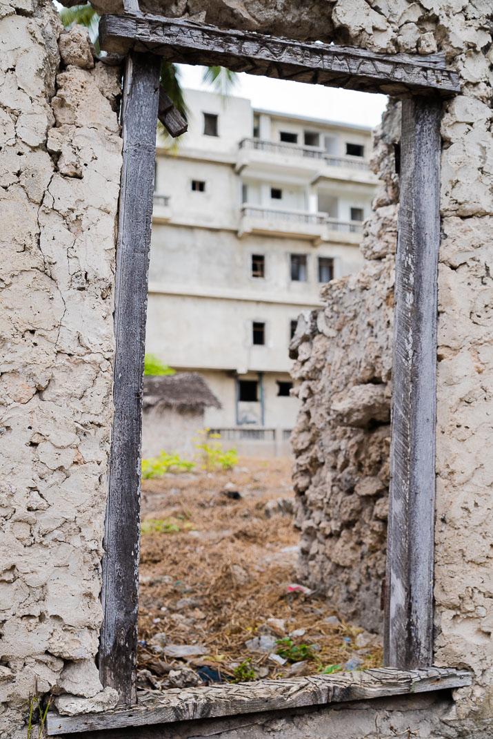 Zanzibar Matemwe Village Construction