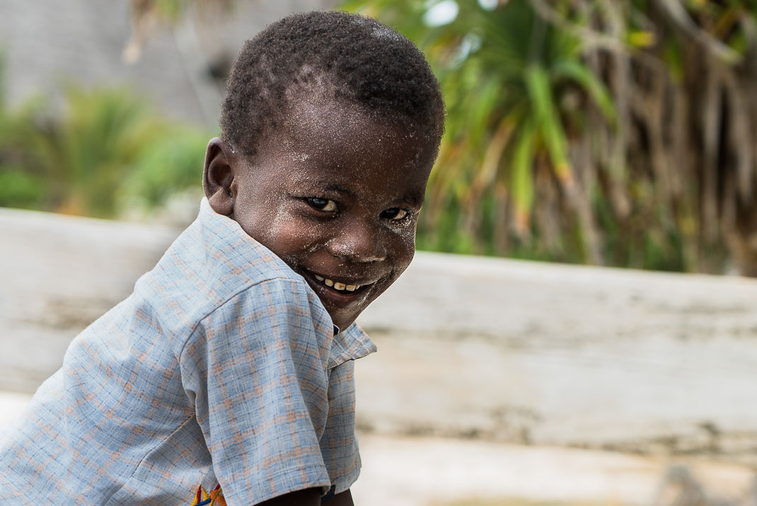 Zanzibar Matemwe smiling child