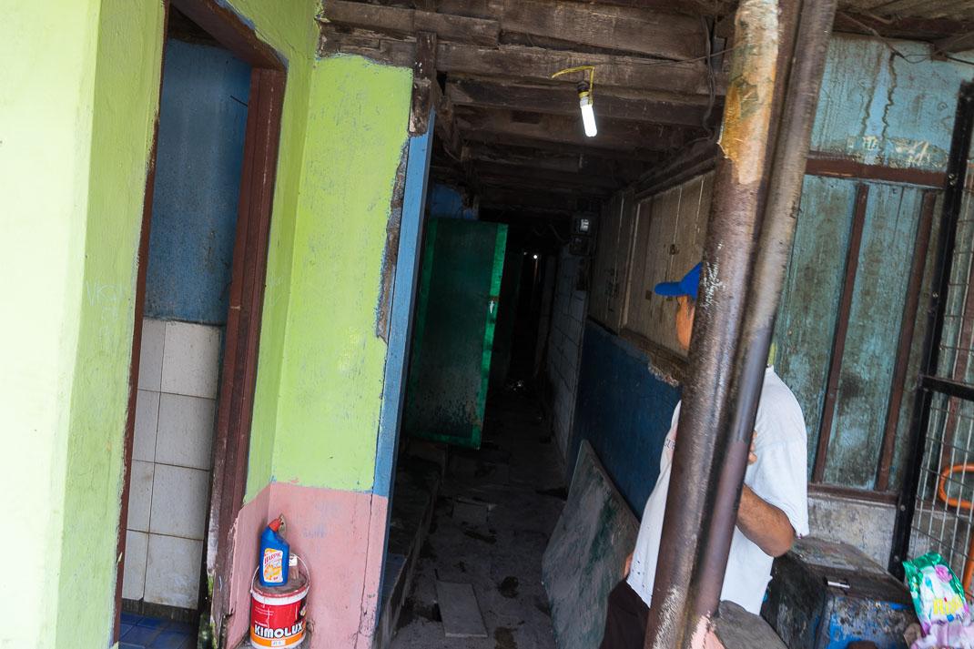 Hidden Jakarta Alleyway Entrance
