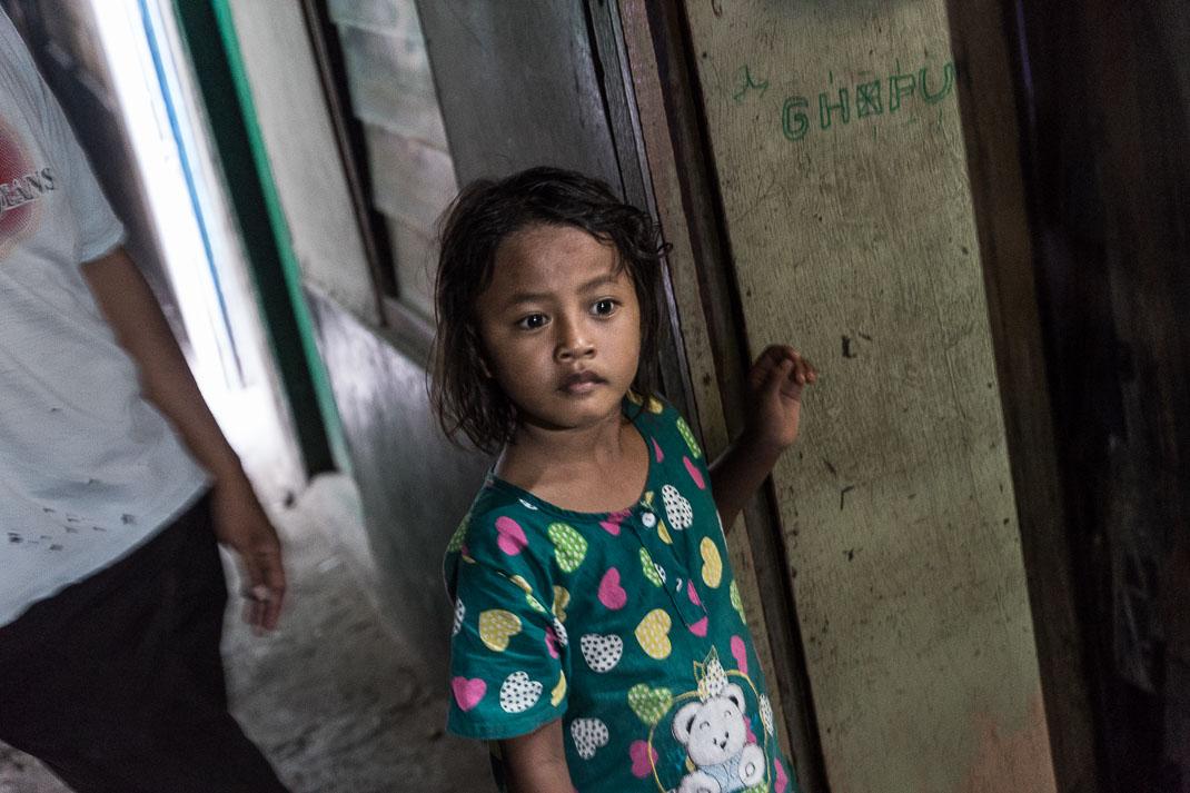 Hidden Jakarta Alleyway Girl
